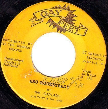 The Gaylads - A B C Rocksteady / Soul Drums