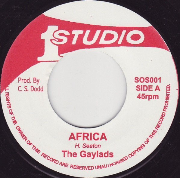 The Gaylads - Africa / Love Me With All Your Heart