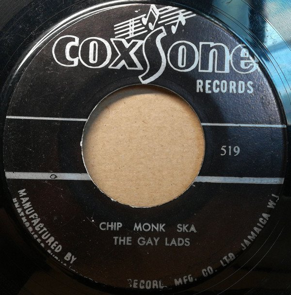 The Gaylads - Chip Monk Ska / The Kiss You Gave