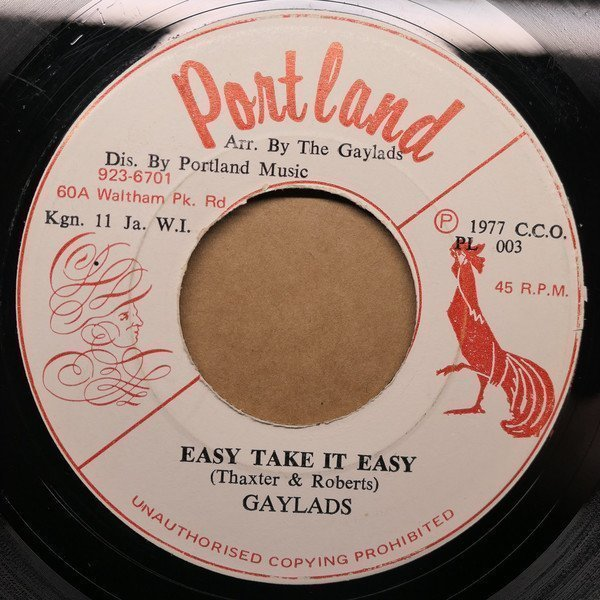 The Gaylads - Easy Take It Easy