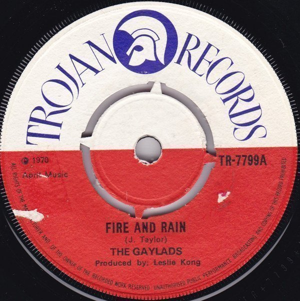 The Gaylads - Fire And Rain