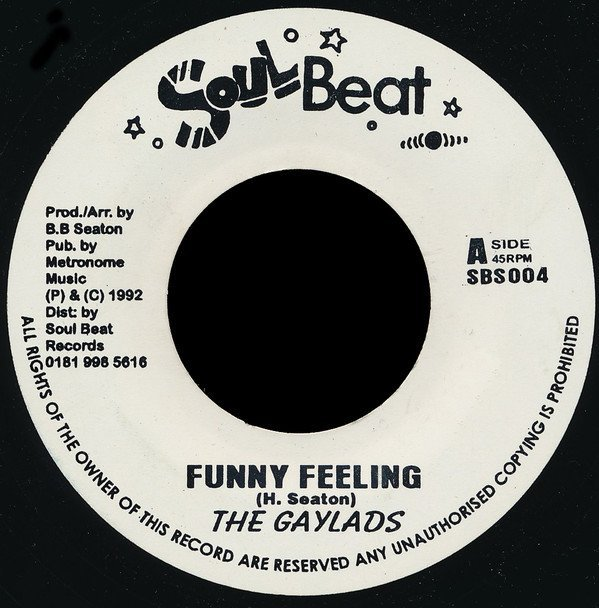 The Gaylads - Funny Feeling / You