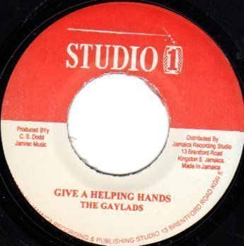 The Gaylads - Give A Helping Hands  / Never Let Your Country Down