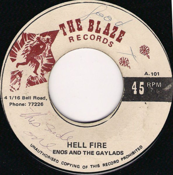 The Gaylads - Hell Fire