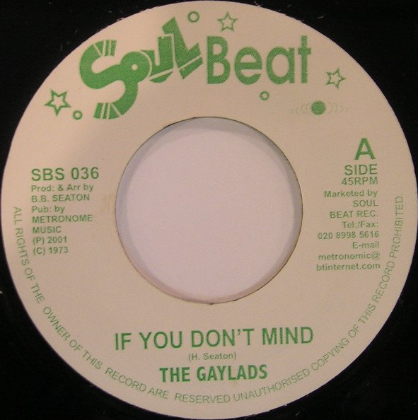 The Gaylads - If You Don