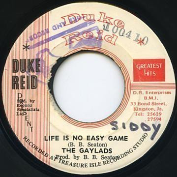 The Gaylads - Life Is No Easy Game