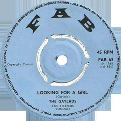 The Gaylads - Looking For A Girl