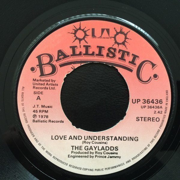 The Gaylads - Love And Understanding