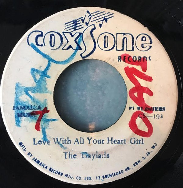 The Gaylads - Love With All Your Heart Girl / I Don