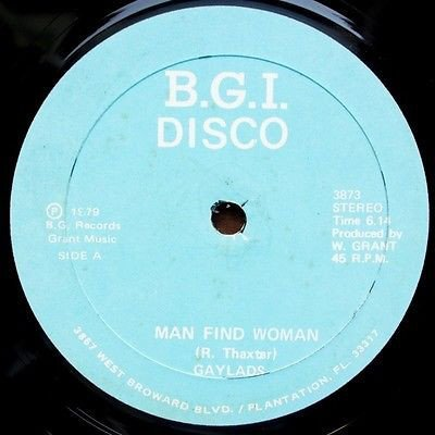 The Gaylads - Man Find Woman