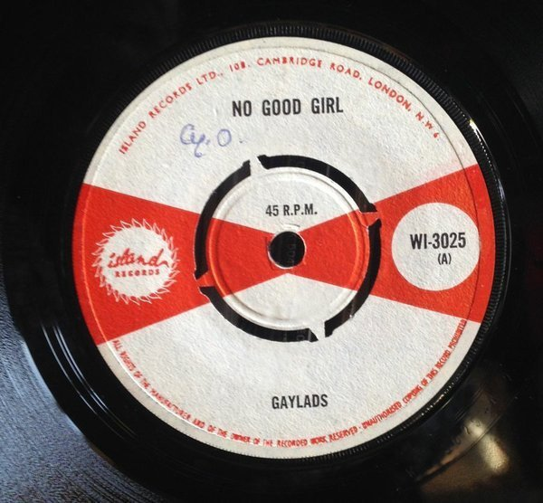 The Gaylads - No Good Girl / Yes Girl