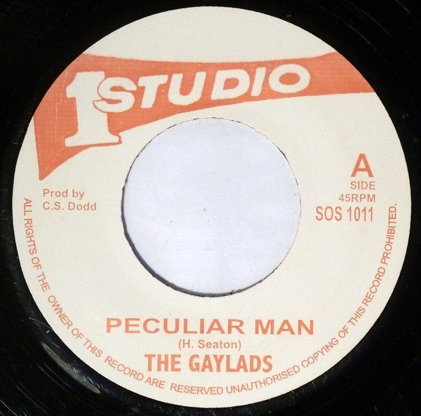 The Gaylads - Peculiar Man / I Am Free