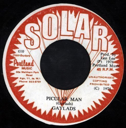 The Gaylads - Picular Man / Picular Dub