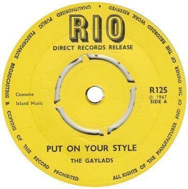 The Gaylads - Put On Your Style / Soul Serenade