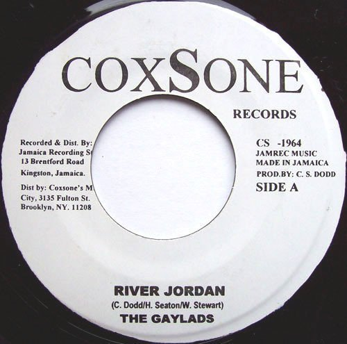 The Gaylads - River Jordan / Message To My Girl