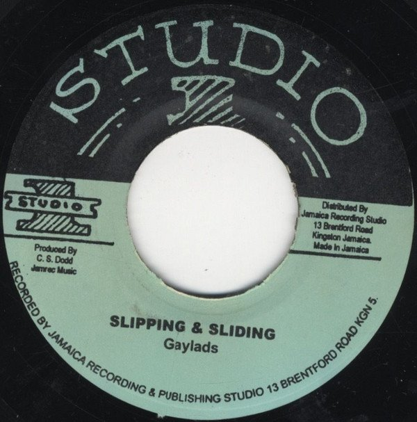 The Gaylads - Slipping And Sliding