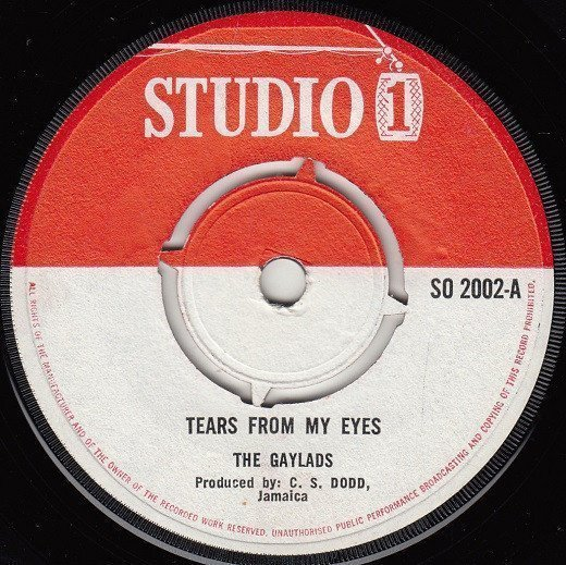 The Gaylads - Tears From My Eyes