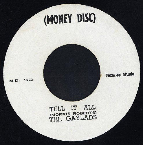 The Gaylads - Tell It All