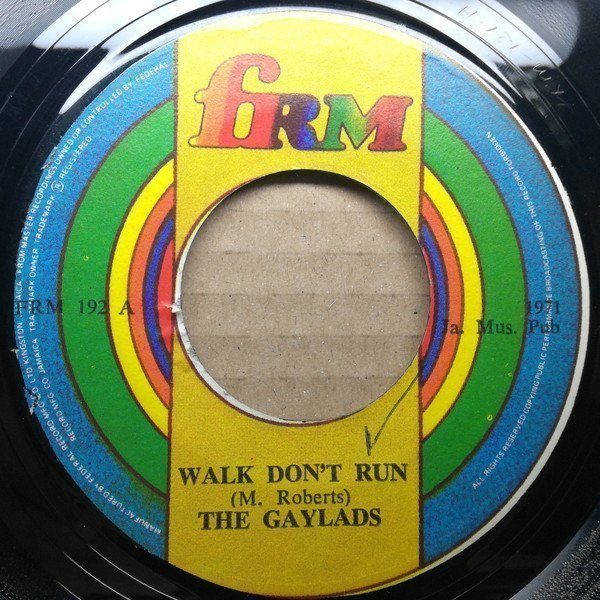 The Gaylads - Walk Don