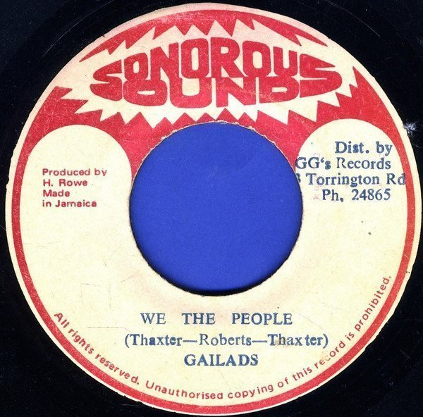 The Gaylads - We The People