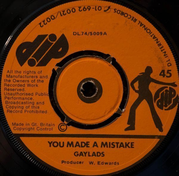 The Gaylads - You Made A Mistake