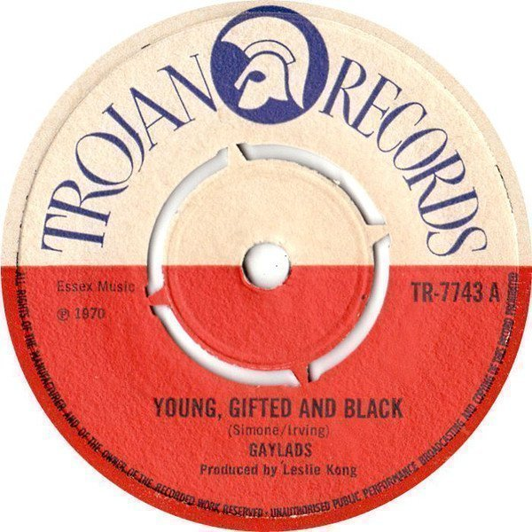 The Gaylads - Young, Gifted And Black / Moon Glow