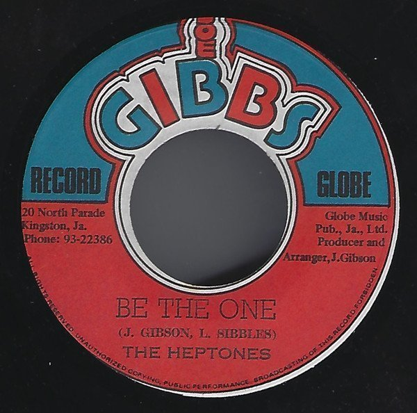 The Heptones - Be The One / The Road Is Rough