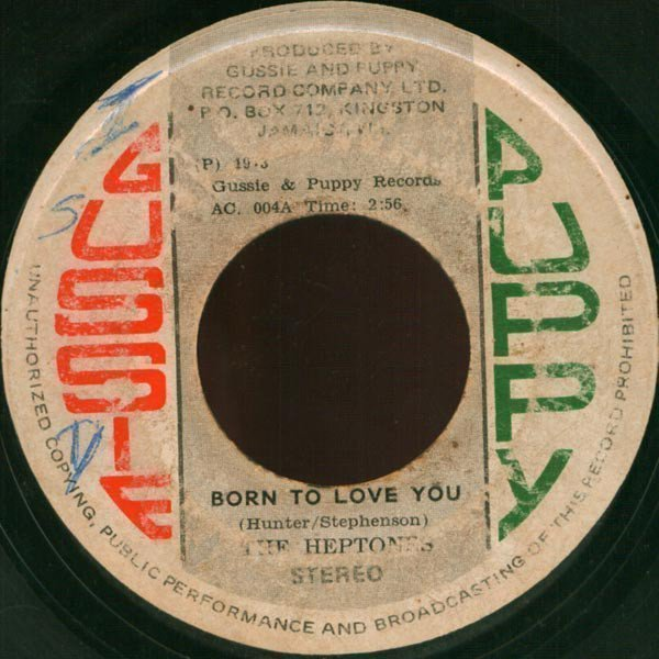 The Heptones - Born To Love You