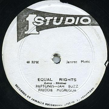 The Heptones - Equal Rights / Death In The Arena