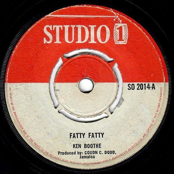 The Heptones - Fatty Fatty / Mother Word