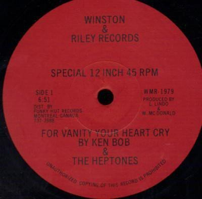 The Heptones - For Vanity Your Heart Cry