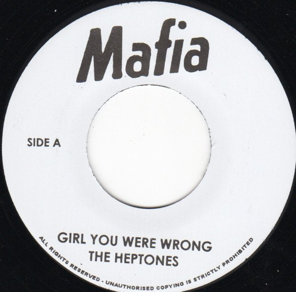 The Heptones - Girl You Were Wrong / African Bread