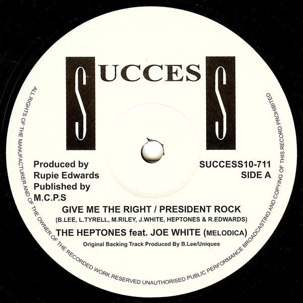 The Heptones - Give Me The Right / President Rock