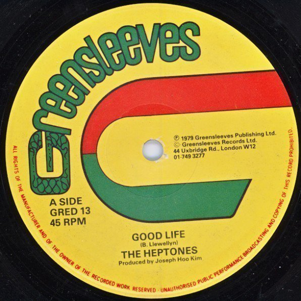 The Heptones - Good Life / Can