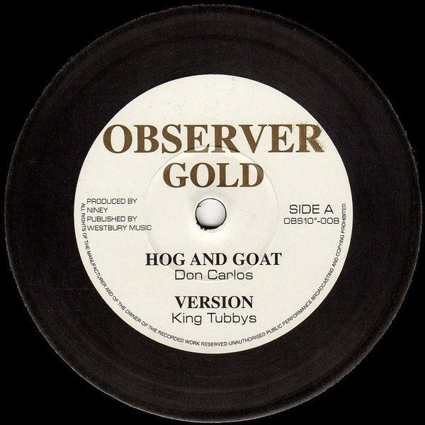 The Heptones - Hog And Goat / In Cold