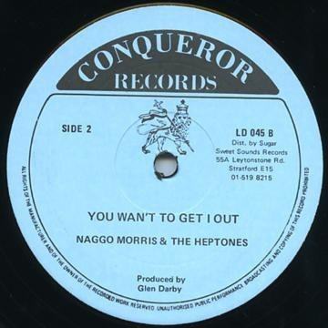 The Heptones - I Have Been In Love / You Want To Get I Out