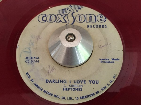 The Heptones - I Shall Be Released / Darling I Love You