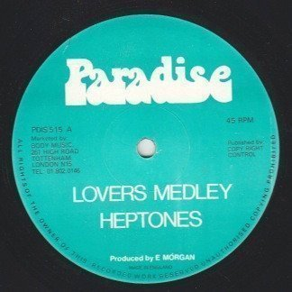 The Heptones - Lovers Medley / Lovers Medley PT 2
