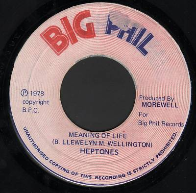 The Heptones - Meaning Of Life