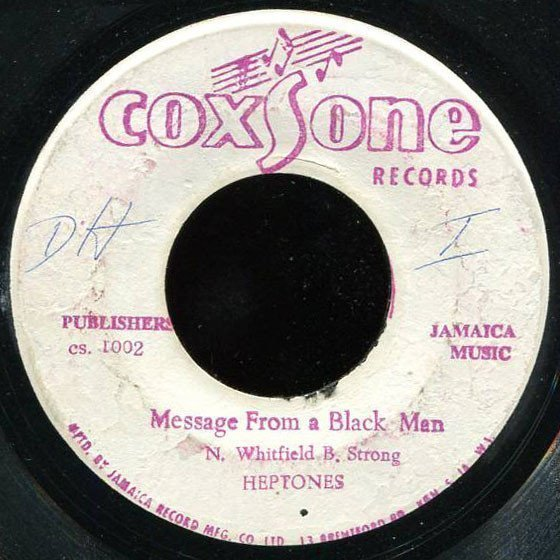 The Heptones - Message From A Black Man / You Turned Away