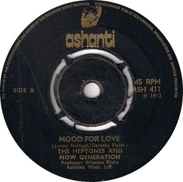 The Heptones - Mood For Love / Eight Years After