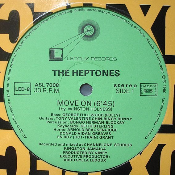 The Heptones - Move On