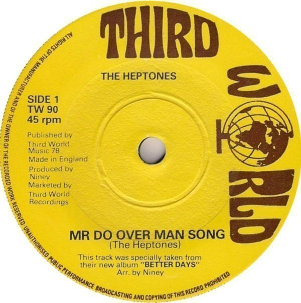 The Heptones - Mr Do Over Man Song / Key To Her Heart