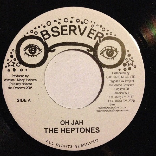 The Heptones - Oh Jah / Better Days