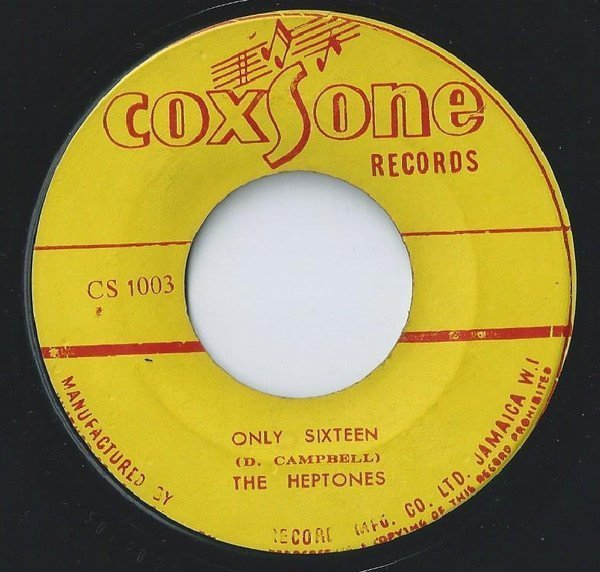 The Heptones - Only Sixteen / Baby