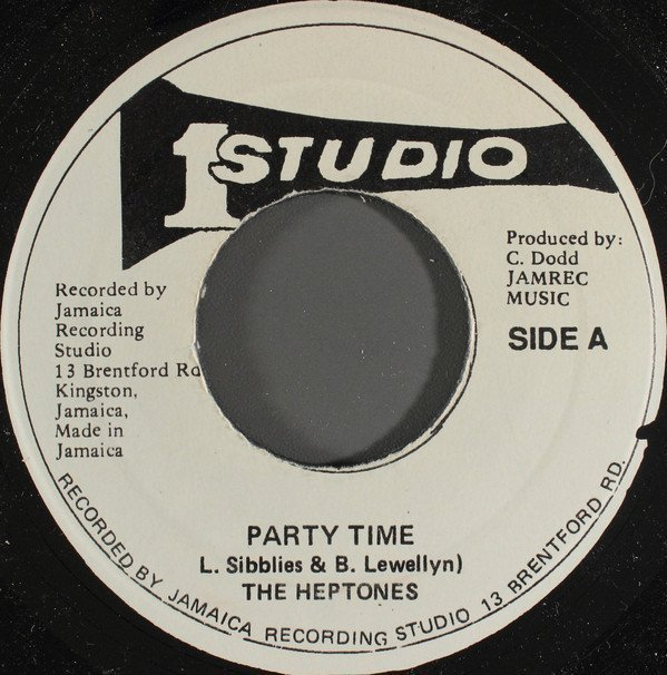 The Heptones - Party Time / Party Version