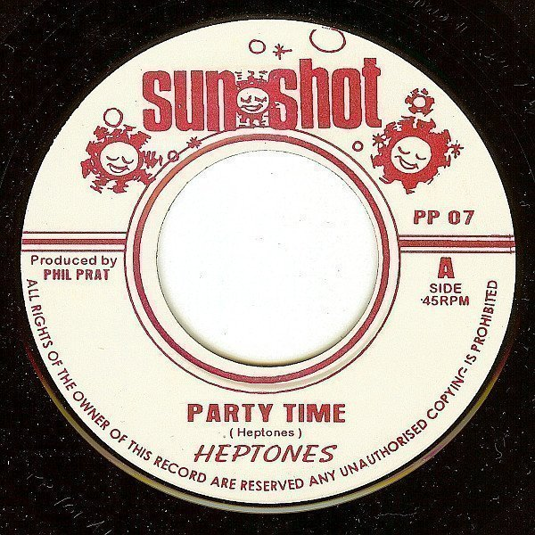 The Heptones - Party Time / Zion Hill