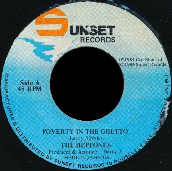 The Heptones - Poverty In The Ghetto