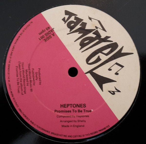 The Heptones - Promises To Be True