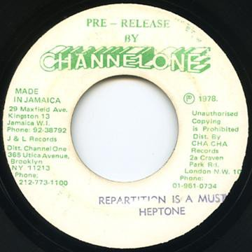 The Heptones - Repartition Is A Must
